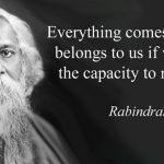 158th Birth Anniversary of Rabindranath Tagore Observed