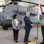 1st Apache Helicopter Formally Handed Over To IAF