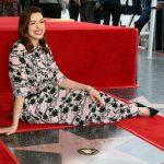 Actress Anne Hathaway Receives Star On Hollywood Walk Of Fame