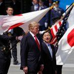 Trump becomes first foreign leader to meet new Japanese emperor Naruhito