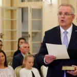 Scott Morrison sworn in as Australia's PM