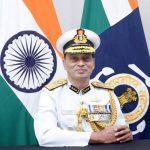 K. Natarajan has sworn in as the 23rd chief of ICG
