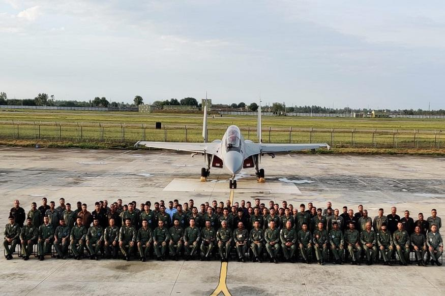 Indo-French Joint Air Exercise Garuda-VI Begins_40.1