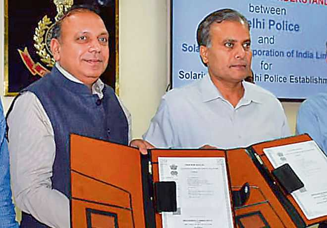 Delhi Police signs pact with SECI for rooftop solar energy systems_40.1