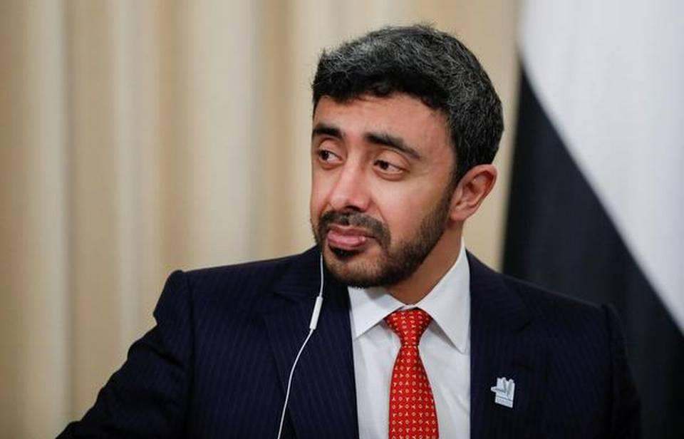 UAE Foreign minister arrives in India_40.1