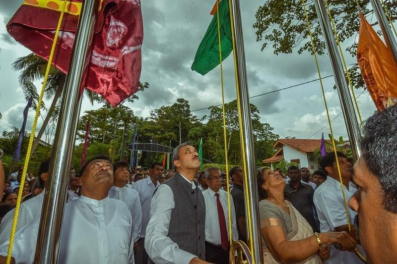 Sri Lanka inaugurates model village built with Indian assistance_40.1
