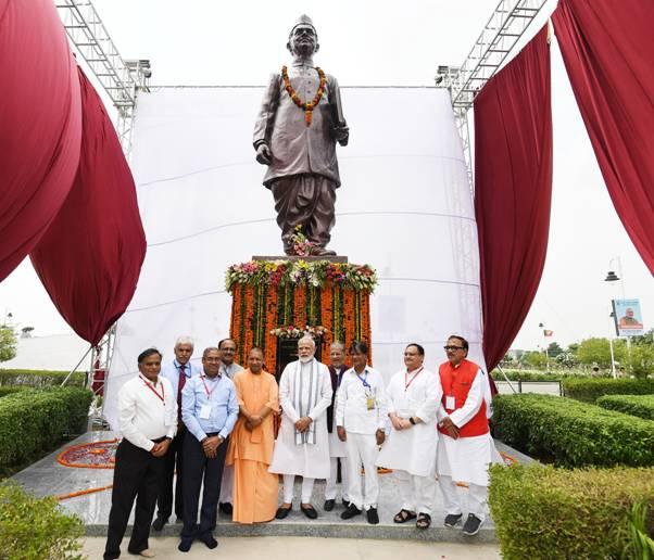 Lal Bahadur Shastri Statue unveiled by PM_40.1