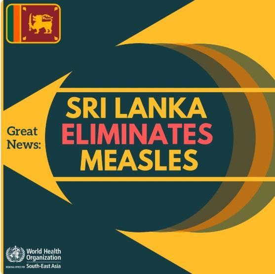 Sri Lanka eliminates measles_40.1