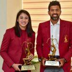 Rohan Bopanna and Smriti Mandhana got Arjuna Award