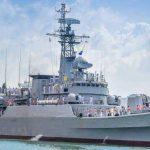 China gifts warship 'P625' to Sri Lanka