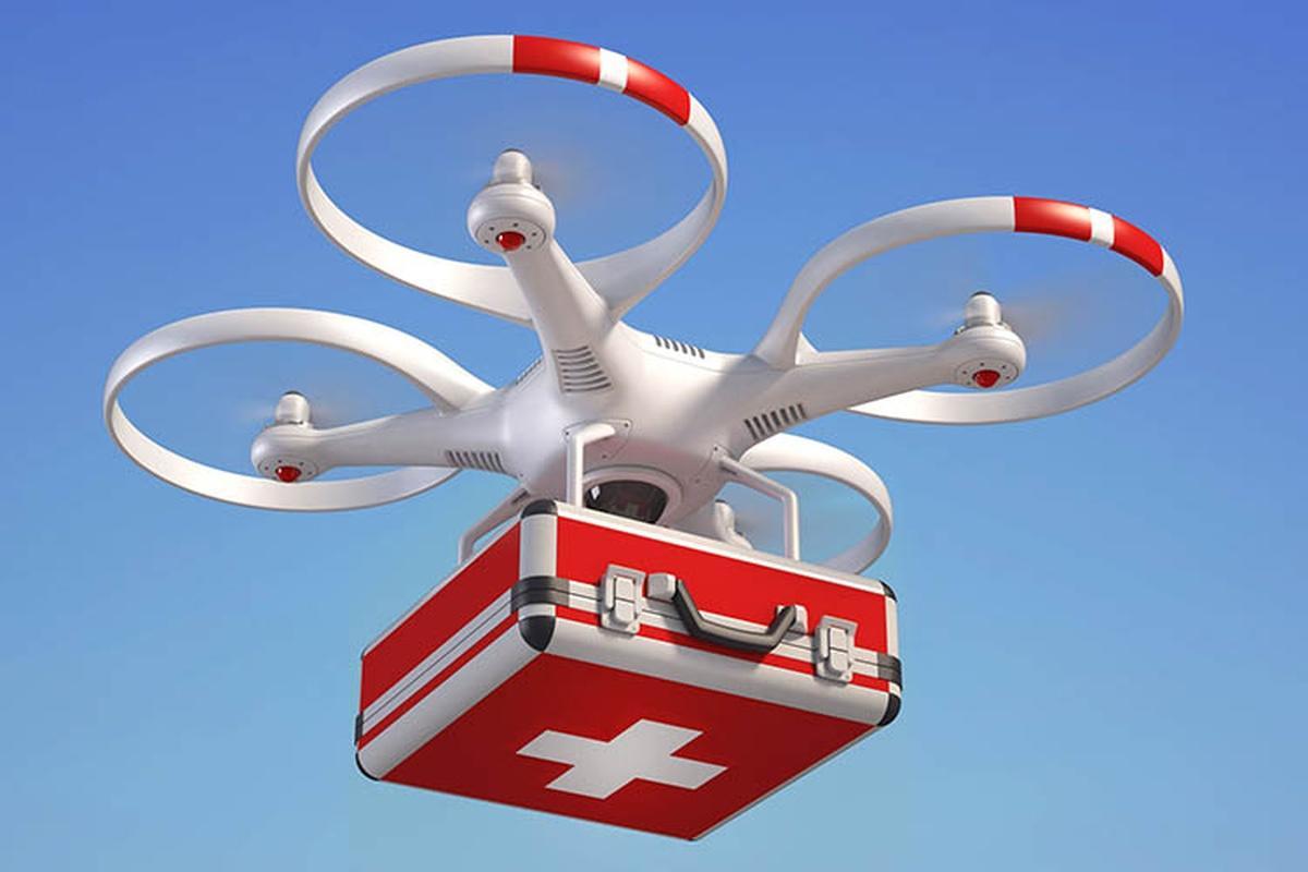 Telangana govt, WEF Centre set to send medical supplies via drones_40.1