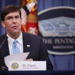 Mark Esper appointed as Pentagon chief
