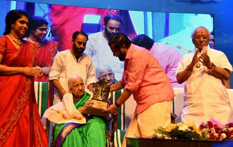 Nishagandhi Sangeetha Awards conferred by Kerala Tourism_40.1