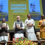 PM Modi releases book on former PM Chandra Shekhar