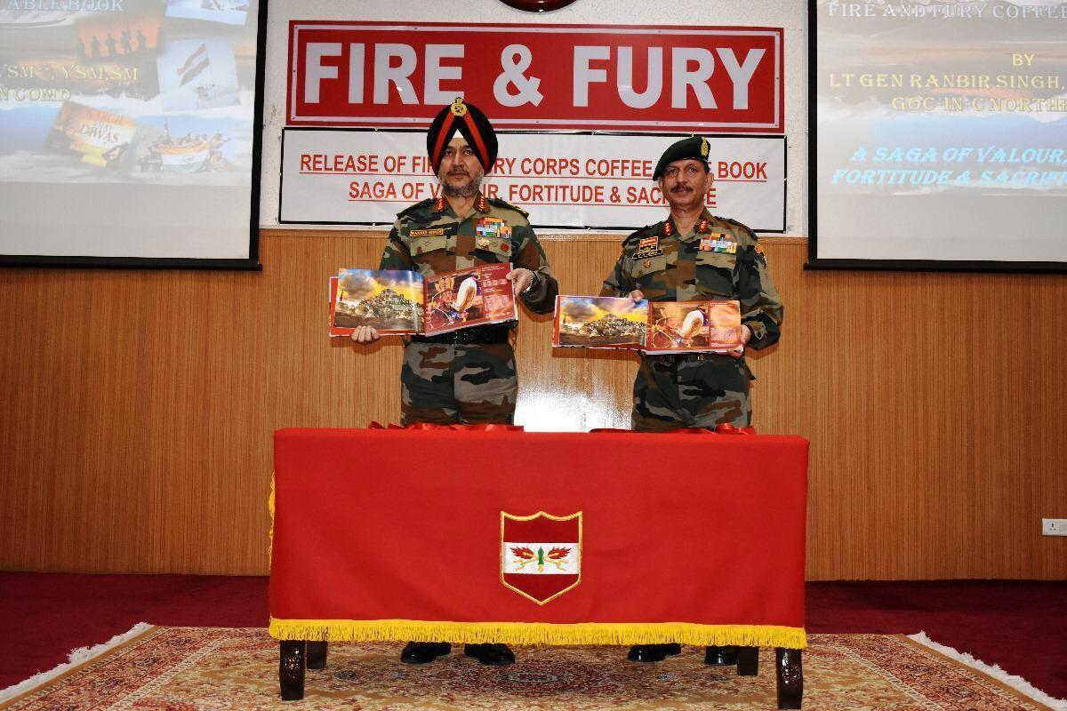 Lt Gn. Ranbir Singh releases a book on Fire and Fury Warriors_40.1