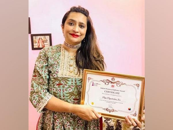 'Indian Woman of Influence Award' received by Priya Priyadarshini Jain_40.1
