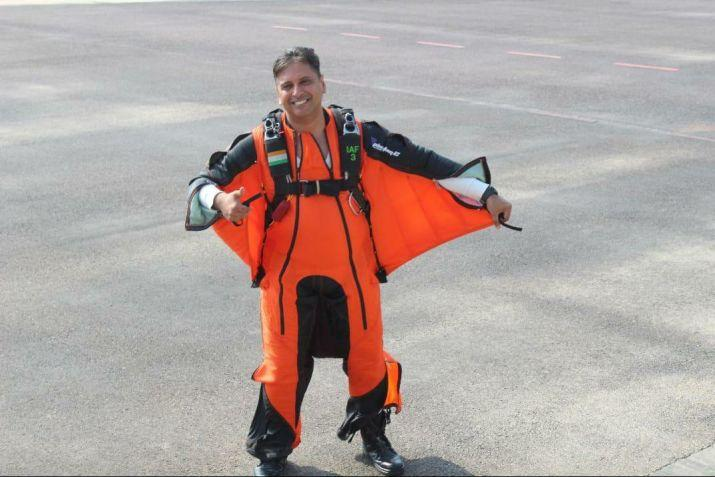 Tarun Chaudhri becomes first IAF pilot to complete wingsuit skydive jump_40.1