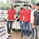 Mohali gets first 3-D traffic signal