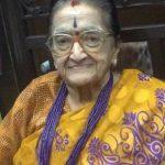 Former Padma Shri award winner Rajalakshmi Parthasarathy passes away