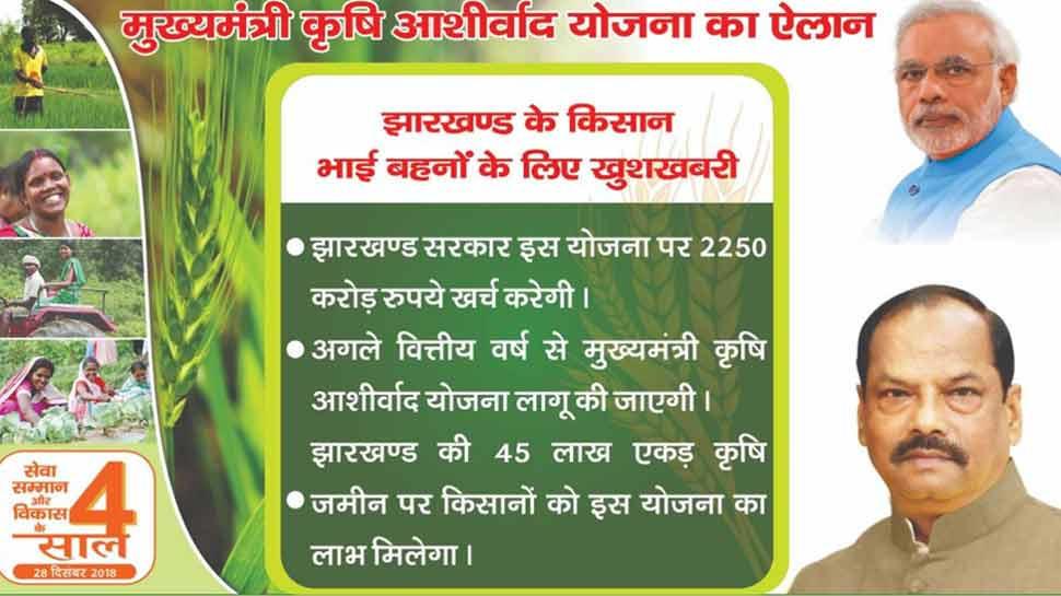 Vice President launches 'Mukhya Mantri Krishi Ashirwad Yojana' in Jharkhand_40.1