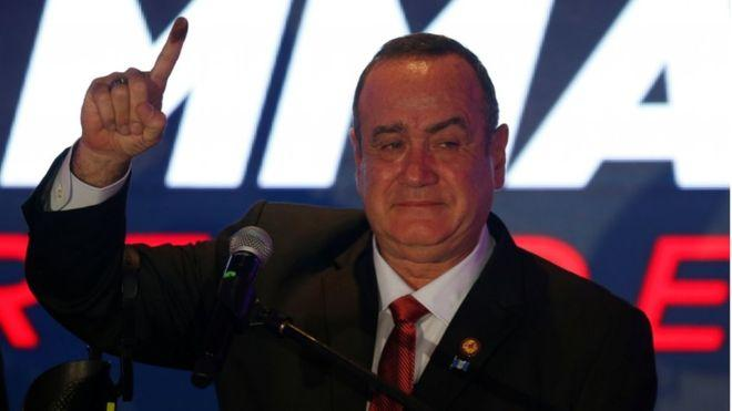 Alejandro Giammattei elected as Guatemala's new president_40.1