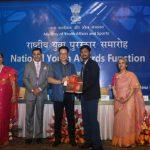 National Youth Awards conferred for development and social service work