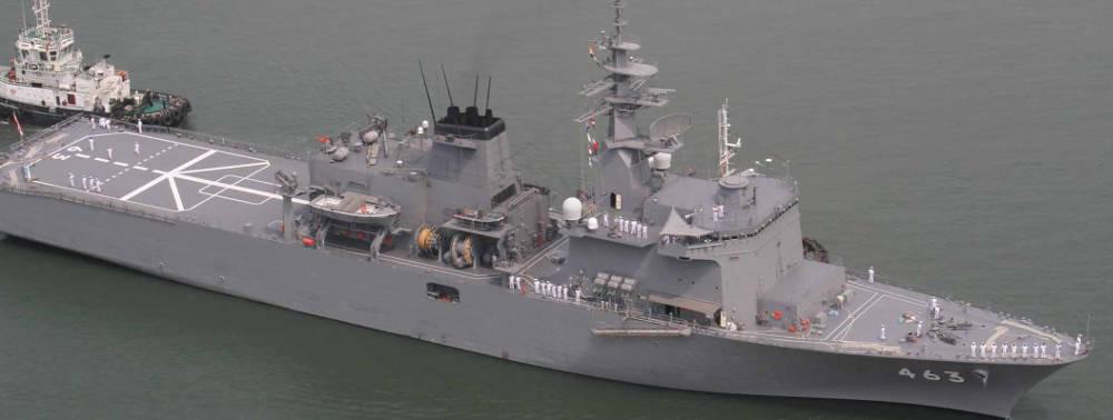 Japanese Maritime Self Defence Ship Visits Kochi_40.1