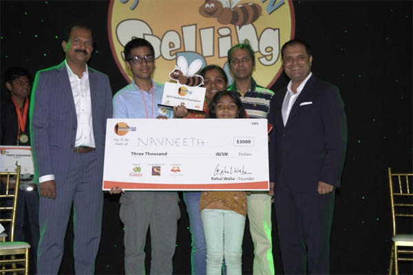 Indian-American teen wins South Asian Spelling Bee competition 2019_40.1