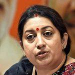 WCD Minister Smriti Irani distributed the Poshan Abhiyaan Awards for 2018-19