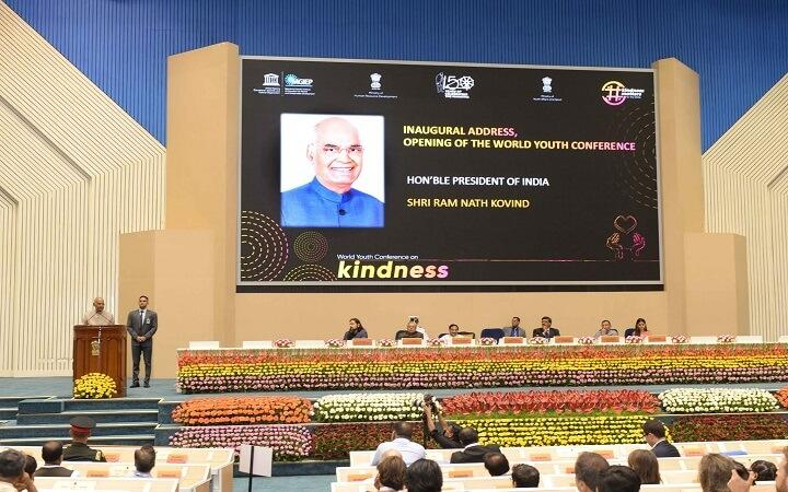 President Kovind inaugurates the First World Youth Conference_40.1