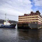 Russia launches floating nuclear reactor in Arctic