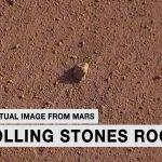 NASA honours Rolling Stones by naming rock on Mars