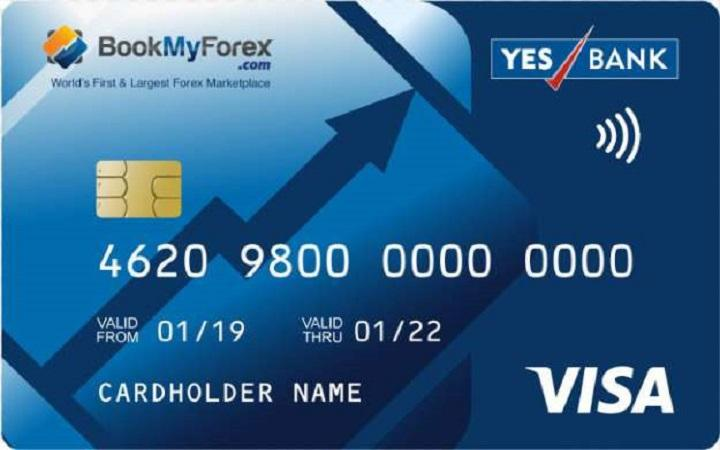 BookMyForex, YES Bank tie up for foreign exchange travel card_40.1