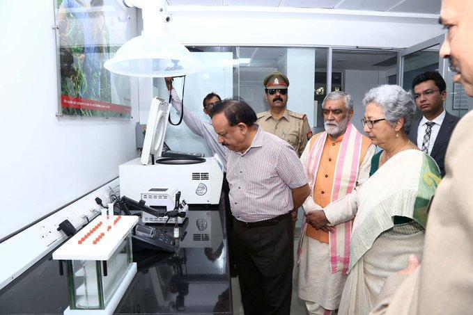 Harsh Vardhan inaugurates FSSAI's National Food Laboratory_40.1