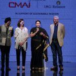"""Textiles minister Smriti Irani launches sustainable fashion project """"SU.RE"""""""