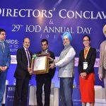 ONGC's CMD honoured with Distinguished Fellowship of IOD, 2019