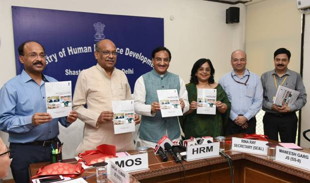 Union HRD Minister launches Integrated Online junction 'Shagun'_40.1