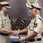 IPS Vivek Kumar Johri takes charge as BSF DG