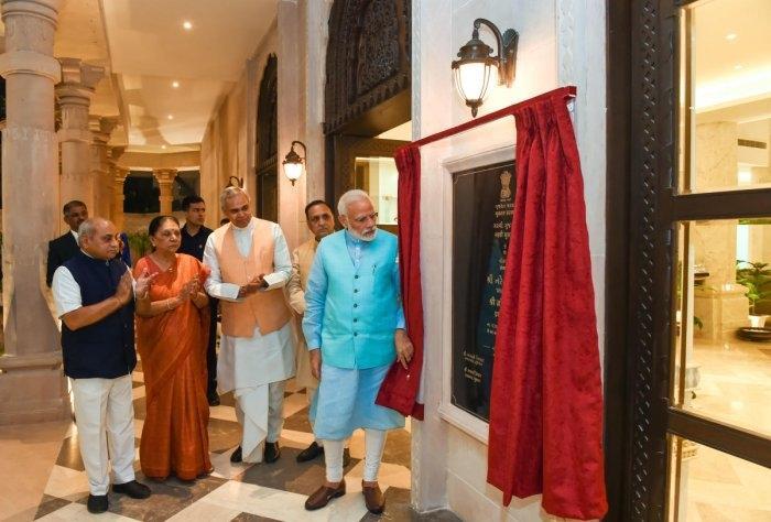 PM Modi inaugurates Garvi Gujarat Bhavan in New Delhi_40.1