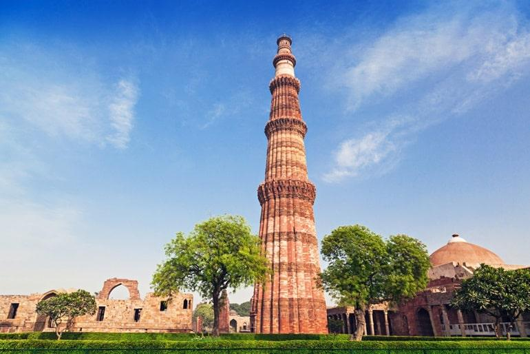 Tourism Minister inaugurates first-ever architectural LED illumination at Qutub Minar_40.1