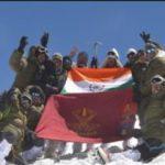 Indian Army Team summit MT Leo Pargyil (6773m)