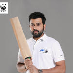 Rohit Sharma launches campaign to save Rhinos in India