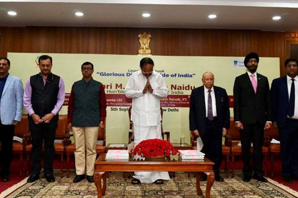 Vice president releases book titled 'Glorious Diaspora - Pride of India'_40.1