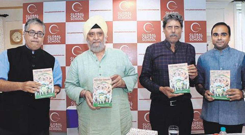 A book titled 'Fortune Turners: The Quartet That Spun India To Glory' launched_40.1
