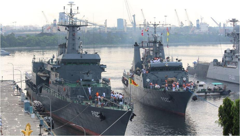 SLINEX 2019: Indo-Lanka maritime fleet exercise_40.1