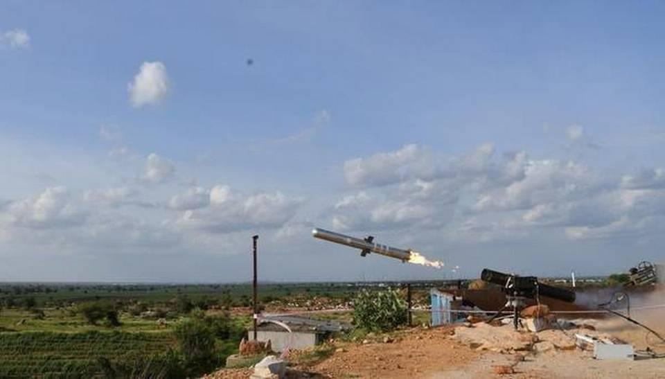 DRDO successfully tests indigenous anti-tank guided missile (MPATGM)_40.1
