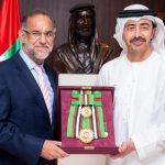 Navdeep Singh Suri honoured with First Class Order of Zayed II