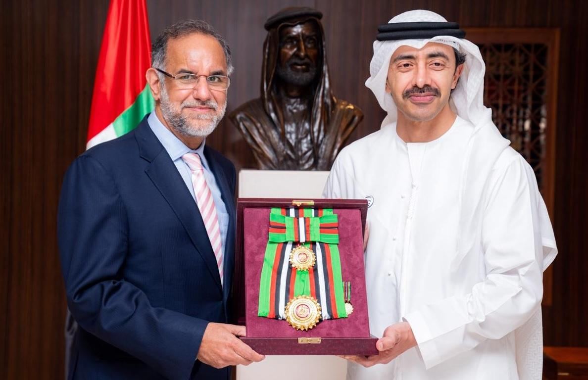 Navdeep Singh Suri honoured with First Class Order of Zayed II_40.1