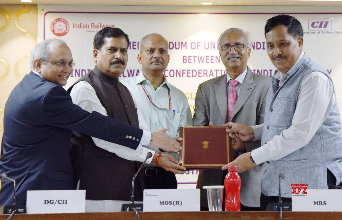 Railway ministry signs MoU with CII_40.1