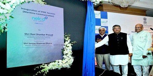 MoC Ravi Shankar Prasad launches Maritime Communication Services in India_40.1